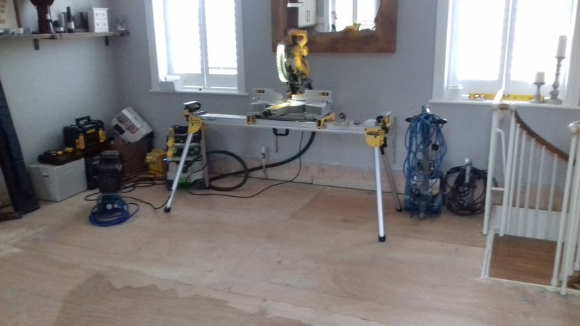 Tools for iwood floor nstallation