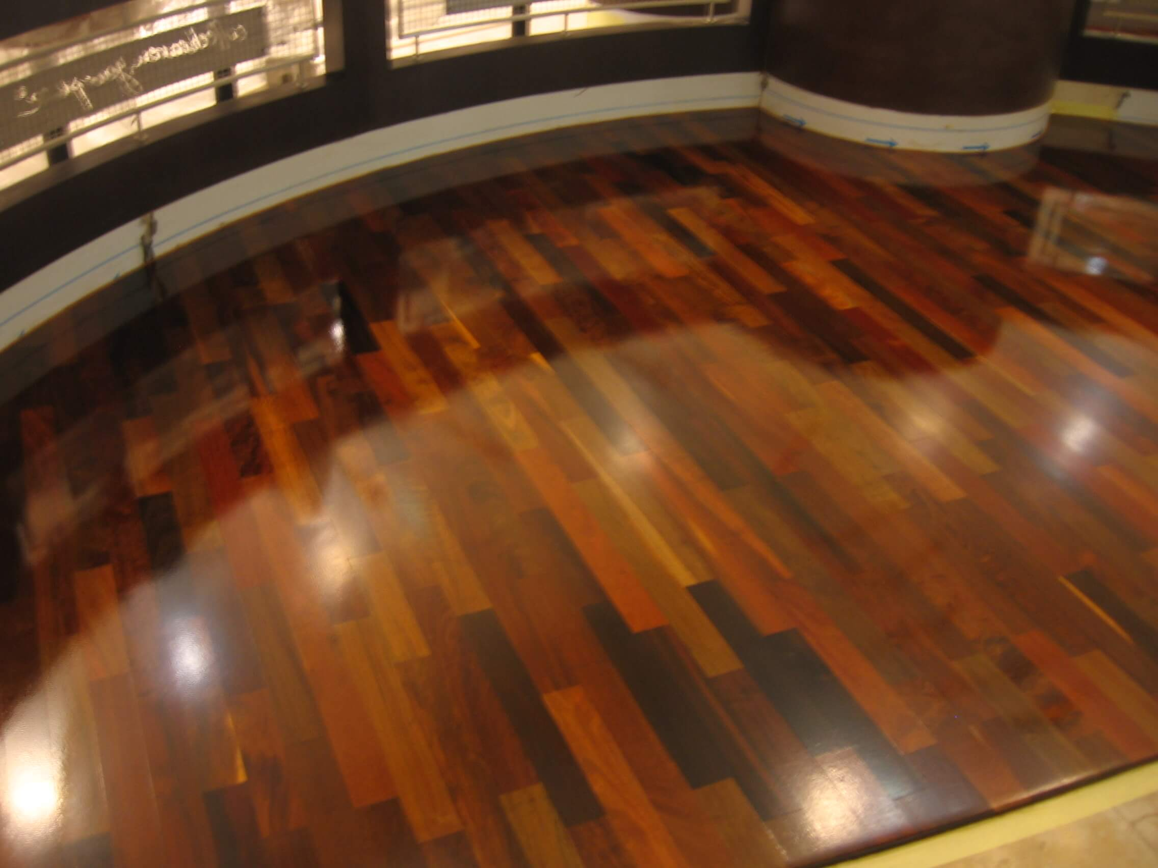 Solid wood flooring Brazilian Walnut- Ipe