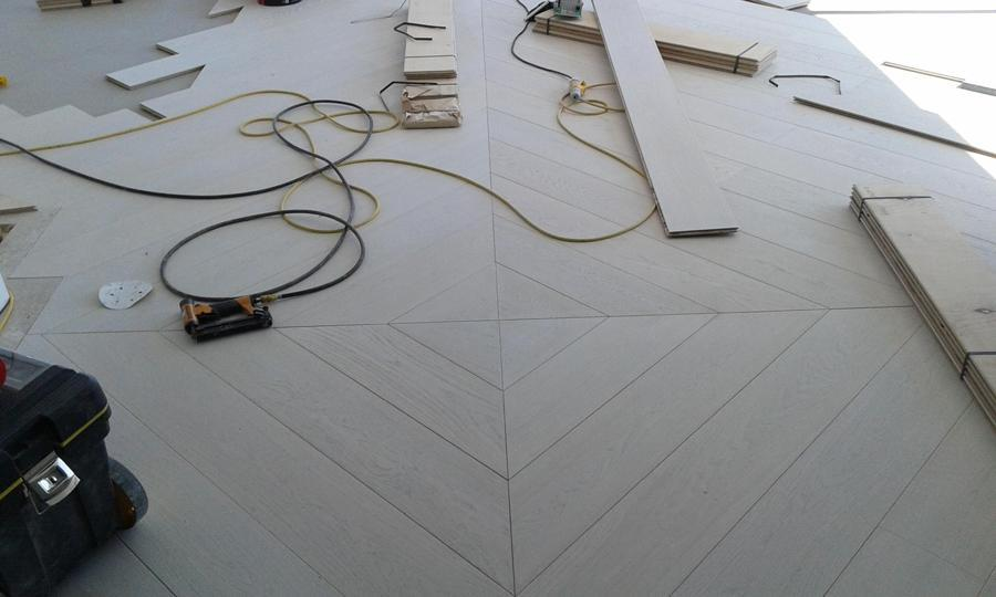 Professional Hardwood Floor Instalation