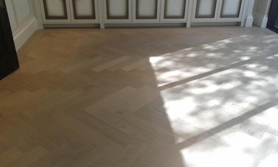 Parquet Flooring Herringbone Pattern