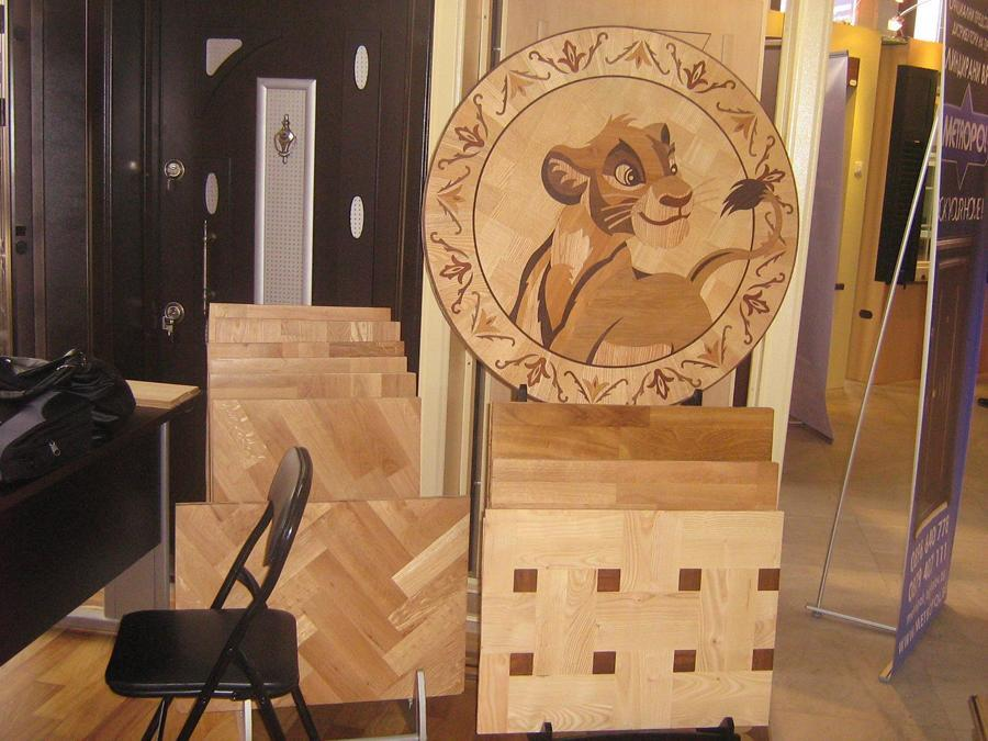 The Lion King Simba from Wood Flooring